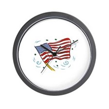 Grand Old Flag Wall Clock