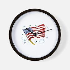 Grand Old Flag Wall Clock