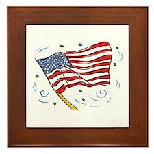 Grand Old Flag Framed Tile
