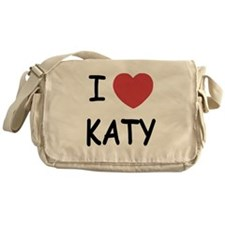 I heart Katy Messenger Bag