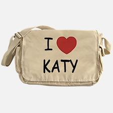 I heart Katy Messenger Bag