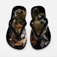 Cute Cougar Flip Flops