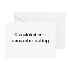 Calculated Risk Greeting Card
