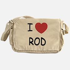 I heart rod Messenger Bag