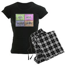 Live Love Laugh Lindy Pajamas
