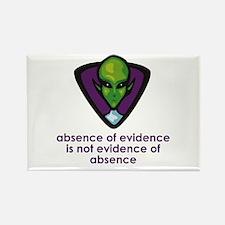 Aliens Exist Rectangle Magnet (10 pack)