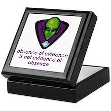 Aliens Exist Keepsake Box