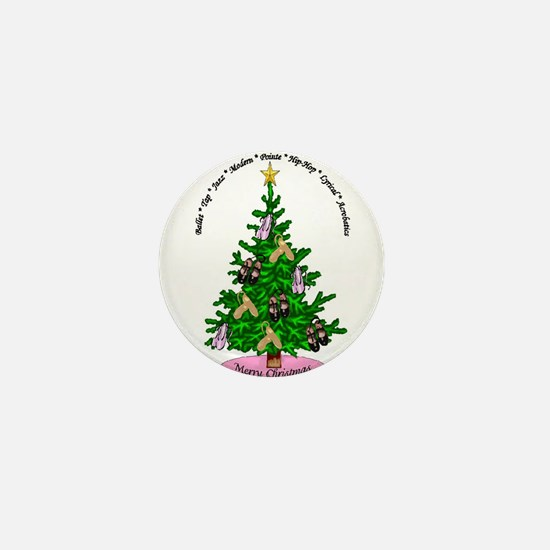 Cute Dance christmas Mini Button