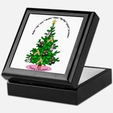 Cute Dance christmas Keepsake Box