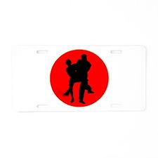 Red Moon Dancers Aluminum License Plate