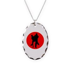 Red Moon Dancers Necklace