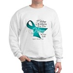 Ovarian Cancer Hero Sweatshirt