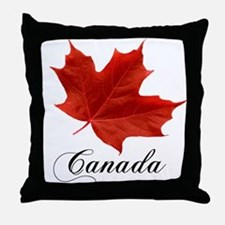 Show your pride in Canada Throw Pillow