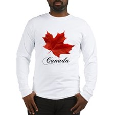 Show your pride in Canada Long Sleeve T-Shirt