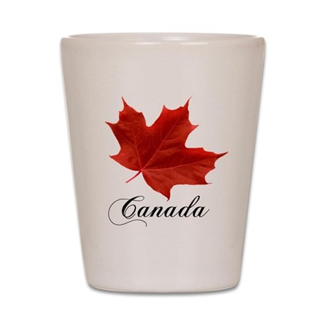 Show your pride in Canada Shot Glass
