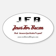 JFB Oval Decal