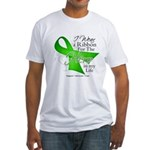 Non-Hodgkin's Lymphoma Hero i Fitted T-Shirt