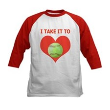Softball I Take It To Heart Tee