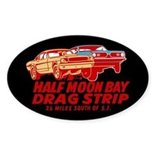 Half Moon Bay Drag Strip Decal