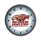 Half moon bay Wall Clocks