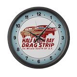 Half moon bay Wall Clocks