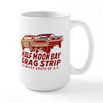 Half Moon Bay Drag Strip Large Mug
