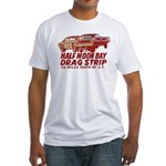 Half Moon Bay Drag Strip Fitted T-Shirt