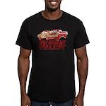 Half Moon Bay Drag Strip Men's Fitted T-Shirt (dar