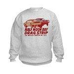 Half Moon Bay Drag Strip Kids Sweatshirt