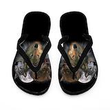 Wolf Flip Flops