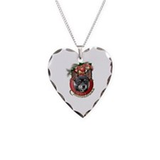 Christmas - Deck the Halls - Chihuahuas Necklace H