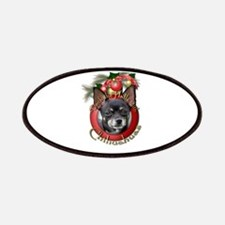 Christmas - Deck the Halls - Chihuahuas Patches