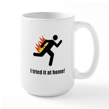 I Tried It At Home Large Mug