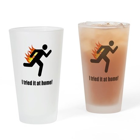 I Tried It At Home Drinking Glass