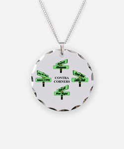 Contra Corners Necklace