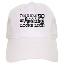 Funny 50th Birthday Baseball Cap