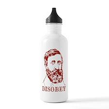 Thoreau Disobey Water Bottle
