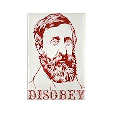Thoreau Disobey Rectangle Magnet