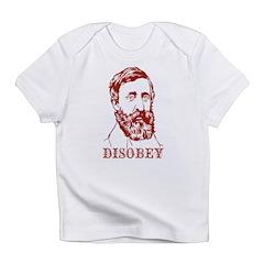 Thoreau Disobey Infant T-Shirt