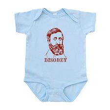 Thoreau Disobey Onesie