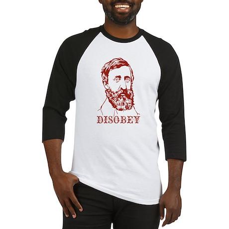 Thoreau Disobey Baseball Jersey
