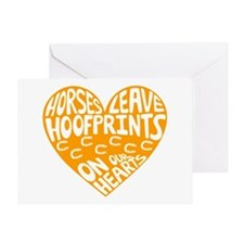 Hoofprints Greeting Card