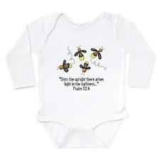 Fireflies & Bible Scripture Long Sleeve Infant Bod