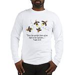 Fireflies & Bible Scripture Long Sleeve T-Shirt