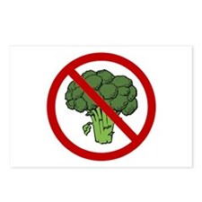 No Broccoli Postcards (Package of 8)