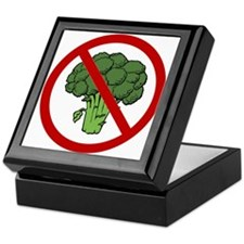 No Broccoli Keepsake Box