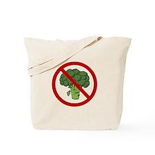 No Broccoli Tote Bag