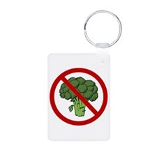 No Broccoli Keychains