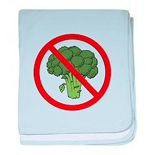 No Broccoli baby blanket