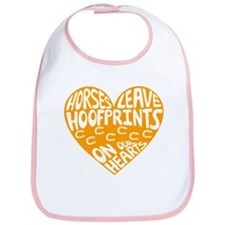 Hoofprints Bib